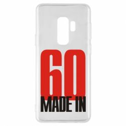Чохол для Samsung S9+ Made in 60
