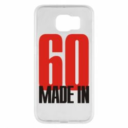 Чохол для Samsung S6 Made in 60