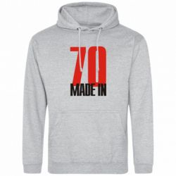 Толстовка Made in 70 - FatLine