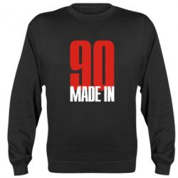 Реглан (свитшот) Made in 90 - FatLine