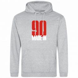 Толстовка Made in 90 - FatLine