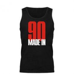 Мужская майка Made in 90 - FatLine