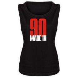 Женская майка Made in 90 - FatLine