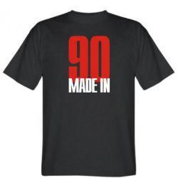 Мужская футболка Made in 90 - FatLine
