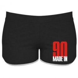 Женские шорты Made in 90 - FatLine