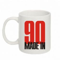 Кружка 320ml Made in 90 - FatLine