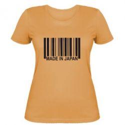 Женская футболка Made in Japan - FatLine