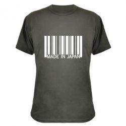 Камуфляжная футболка Made in japan