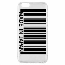 Чехол для iPhone 6/6S Made in japan