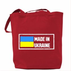 Сумка Made in Ukraine Logo - FatLine