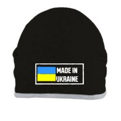 Шапка Made in Ukraine Logo - FatLine
