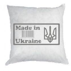 Подушка Made in Ukraine штрих-код