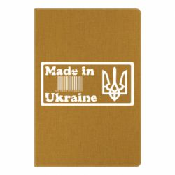 Блокнот А5 Made in Ukraine штрих-код