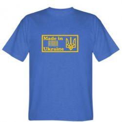 Мужская футболка Made in Ukraine штрих-код - FatLine