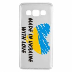 Чохол для Samsung A3 2015 Made in Ukraine with Love