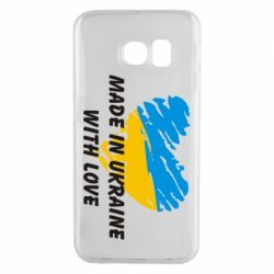 Чохол для Samsung S6 EDGE Made in Ukraine with Love