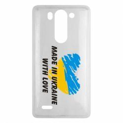 Чехол для LG G3 mini/G3s Made in Ukraine with Love - FatLine