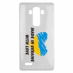 Чехол для LG G4 Made in Ukraine with Love - FatLine