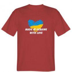Мужская футболка Made in Ukraine with Love