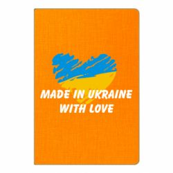 Блокнот А5 Made in Ukraine with Love