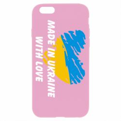 Чохол для iPhone 6/6S Made in Ukraine with Love