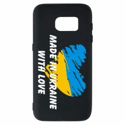 Чохол для Samsung S7 Made in Ukraine with Love