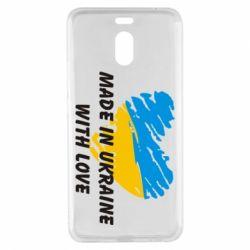 Чехол для Meizu M6 Note Made in Ukraine with Love - FatLine