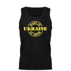 Мужская майка Made in Ukraine - FatLine