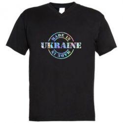 Мужская футболка  с V-образным вырезом Made in Ukraine