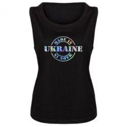 Женская майка Made in Ukraine