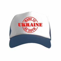 Дитяча кепка-тракер Made in Ukraine