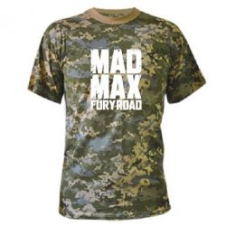 Камуфляжная футболка MadMax - FatLine