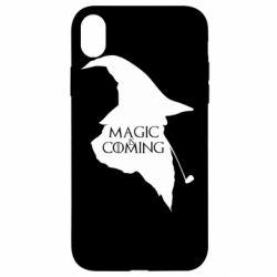 Чехол для iPhone XR Magic is coming