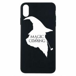 Чехол для iPhone Xs Max Magic is coming
