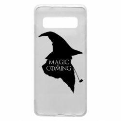 Чехол для Samsung S10 Magic is coming