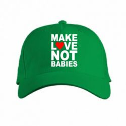 Кепка Make love not babies