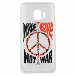 Чехол для Samsung J2 Core Make love, not war