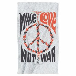 Полотенце Make love, not war