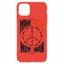 Чехол для iPhone 11 Make love, not war