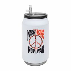 Термобанка 350ml Make love, not war