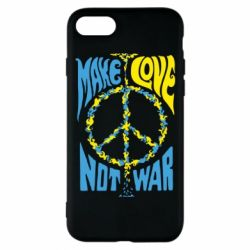 Чохол для iPhone 8 Make love, not war