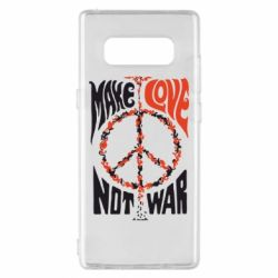 Чехол для Samsung Note 8 Make love, not war