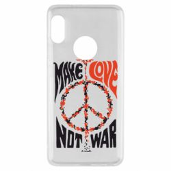Чехол для Xiaomi Redmi Note 5 Make love, not war