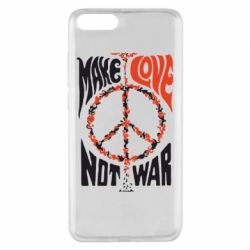 Чехол для Xiaomi Mi Note 3 Make love, not war