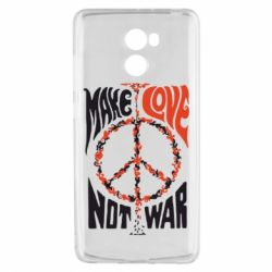 Чехол для Xiaomi Redmi 4 Make love, not war
