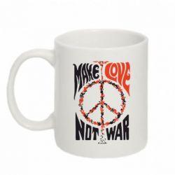 Кружка 320ml Make love, not war - FatLine