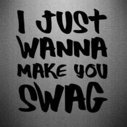 Наклейка Make you SWAG - FatLine