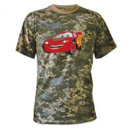 Камуфляжная футболка Маккуин - FatLine