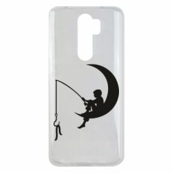 Чехол для Xiaomi Redmi Note 8 Pro Мальчик рыбачит