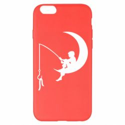 Чехол для iPhone 6 Plus/6S Plus Мальчик рыбачит